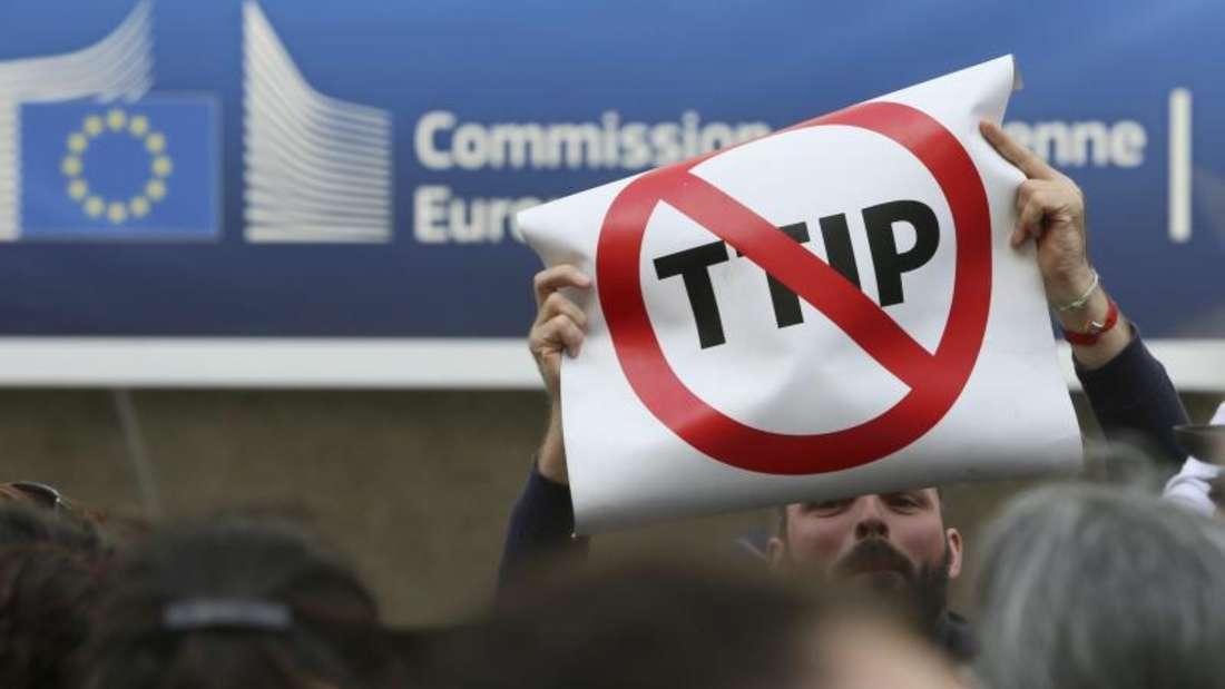 Das Projekt TTIP ist wohl nicht mehr zu retten. Foto:Olivier Hoslet