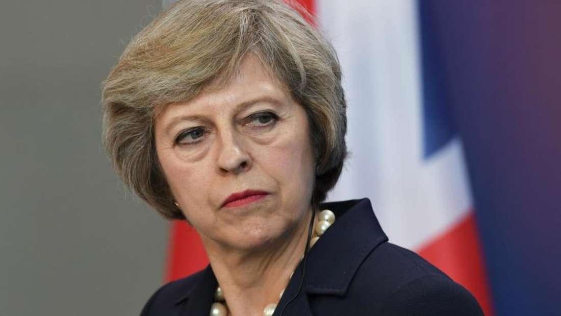 Premierministerin Theresa May hat die schwere Aufgabe, Großbritannien aus der EU zu führen.