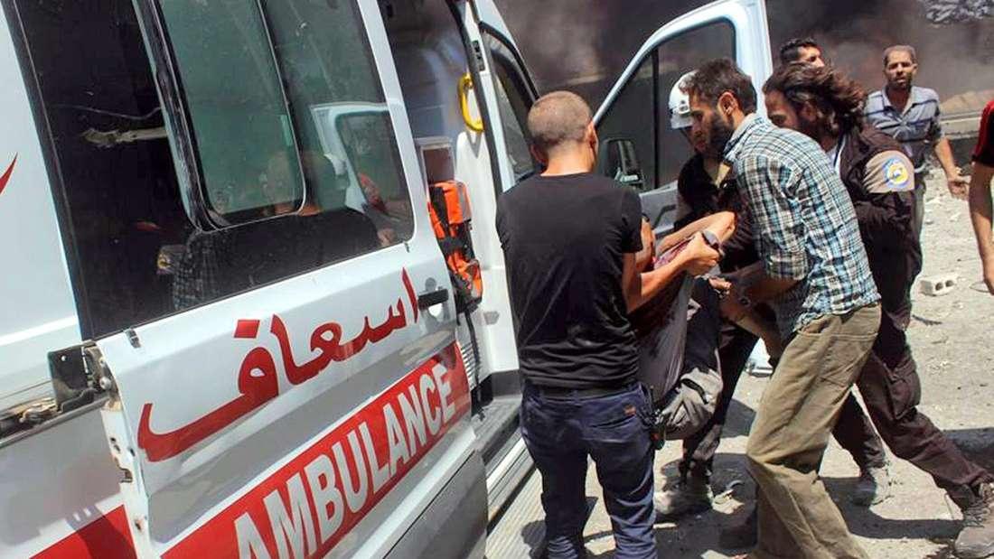 In der Provinz Idlib soll es zu einem chemiewaffeneinsatz gekommen sein.