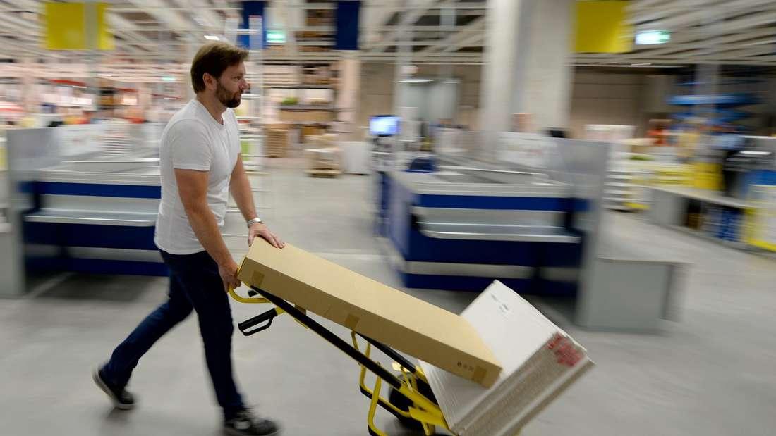 Umtauschparadies Deutschland:Das hat nun bei Ikea Grenzen.