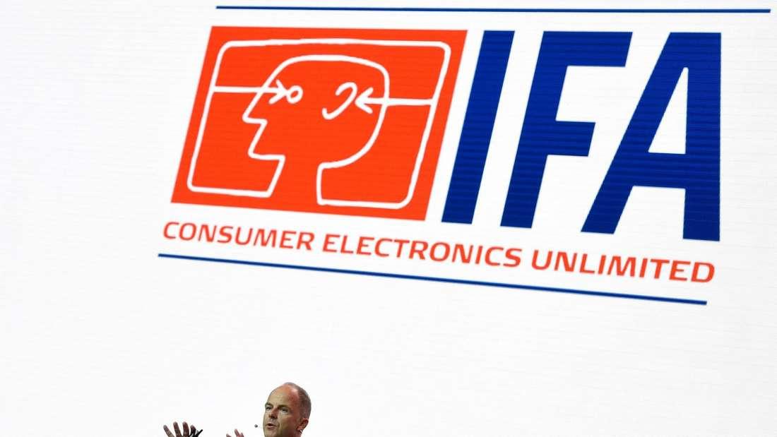 Internationale Funk-Ausstellung in Berlin - erster Medientag.