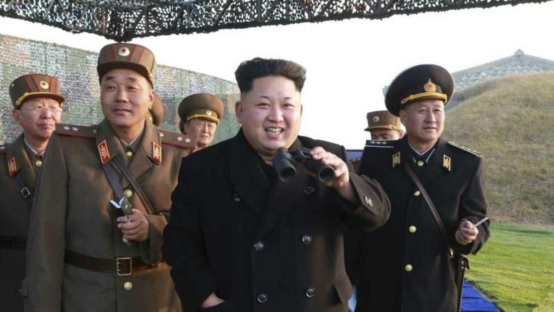 Nach Angaben des südkoreanischen Geheimdienstes wurden seit der Machtübernahme Kim Jong Uns Ende 2011 zahlreiche hochrangige Funktionäre Opfer politischer Säuberungen. Foto: KCNA/Archiv