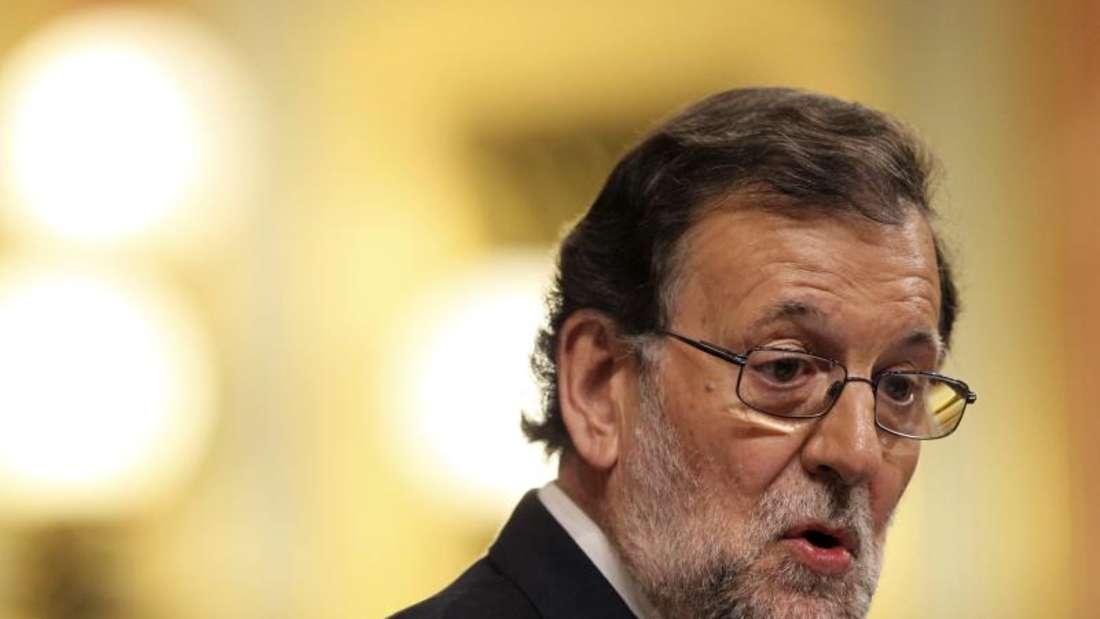 Spaniensgeschäftsführender Ministerpräsident Mariano Rajoy hat erneut eine Parlamentsabstimmung über seine Wiederwahl verloren. Foto: Mariscal