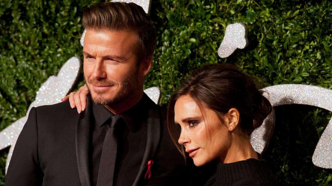 David und Victoria Beckham lernten sich im Fußballstadion kennen.