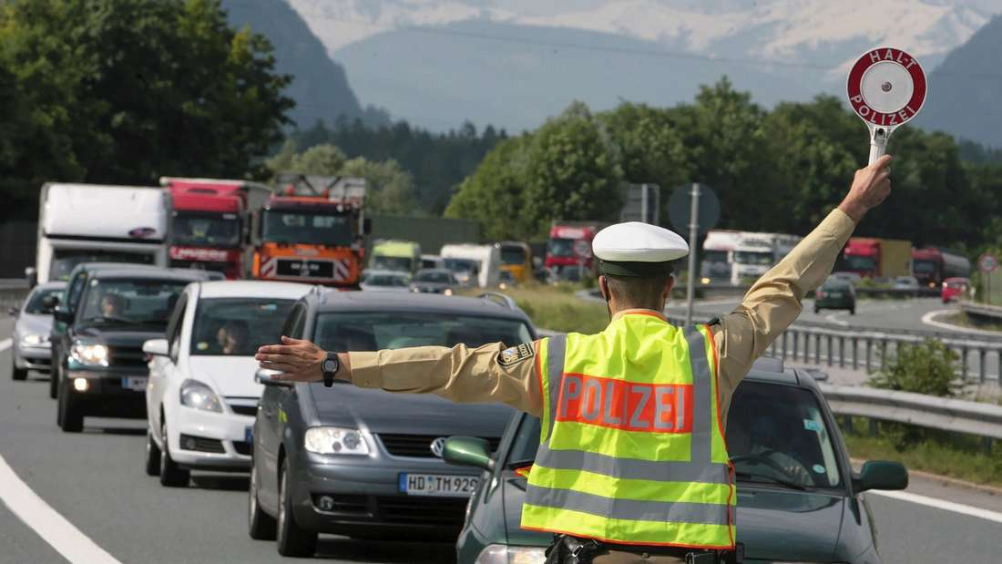 Sprengstoff-Alarm auf Autobahn