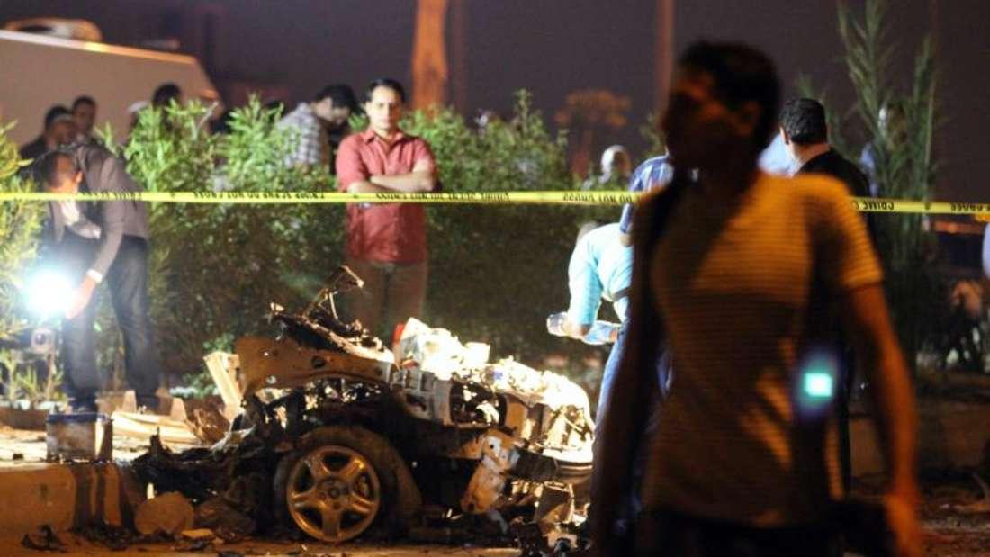 Vergangenen Jahr war der damalige Generalstaatsanwalt bei einem ähnlichen Anschlag getötet worden. Foto:Esslam Gomaa