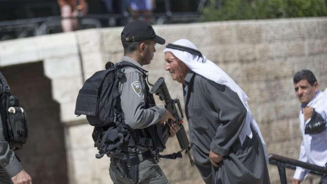 Die Hamas hat für heute zu einem «Tag des Zorn» aufgerufen. Foto:Atef Safadi
