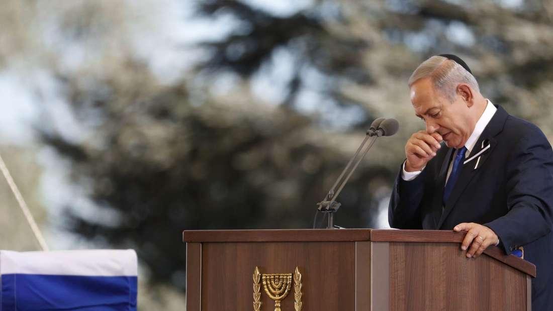Viele Spitzenpolitiker nahmen am Freitag, 30. September 2016, Abschied von Israels Altpräsident Shimon Peres in Jerusalem.