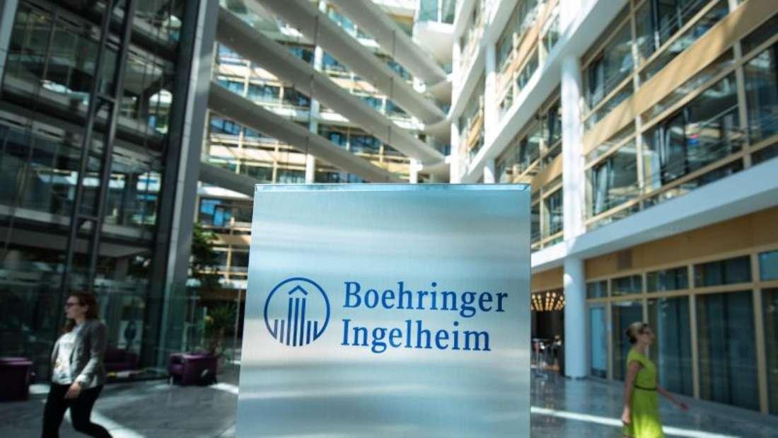 Firmensitz in Ingelheim. Foto:Andreas Arnold/Archiv