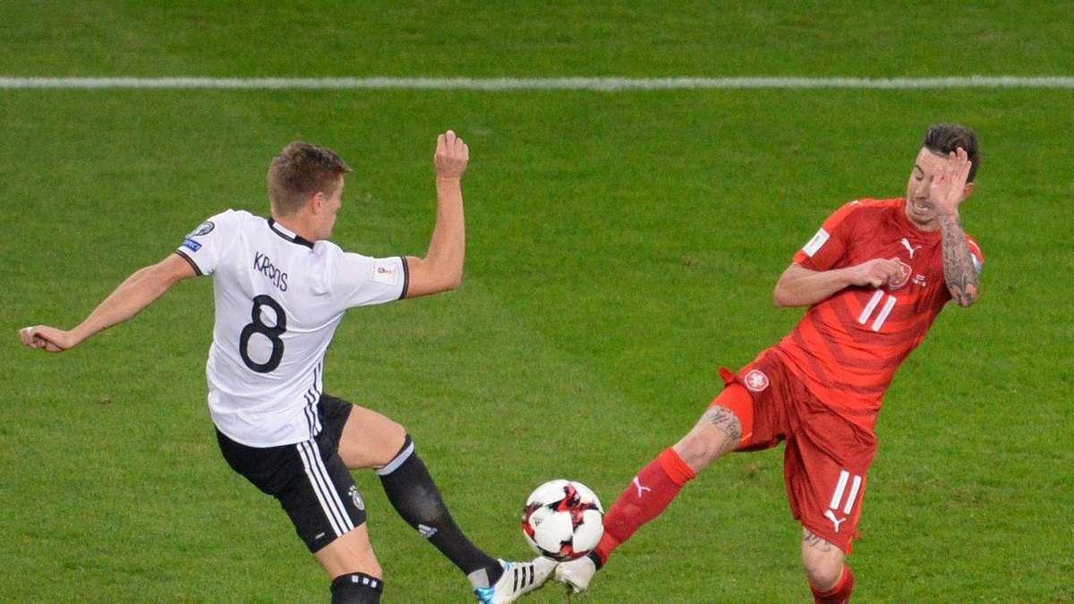 Deutschland Tschechien Fussball