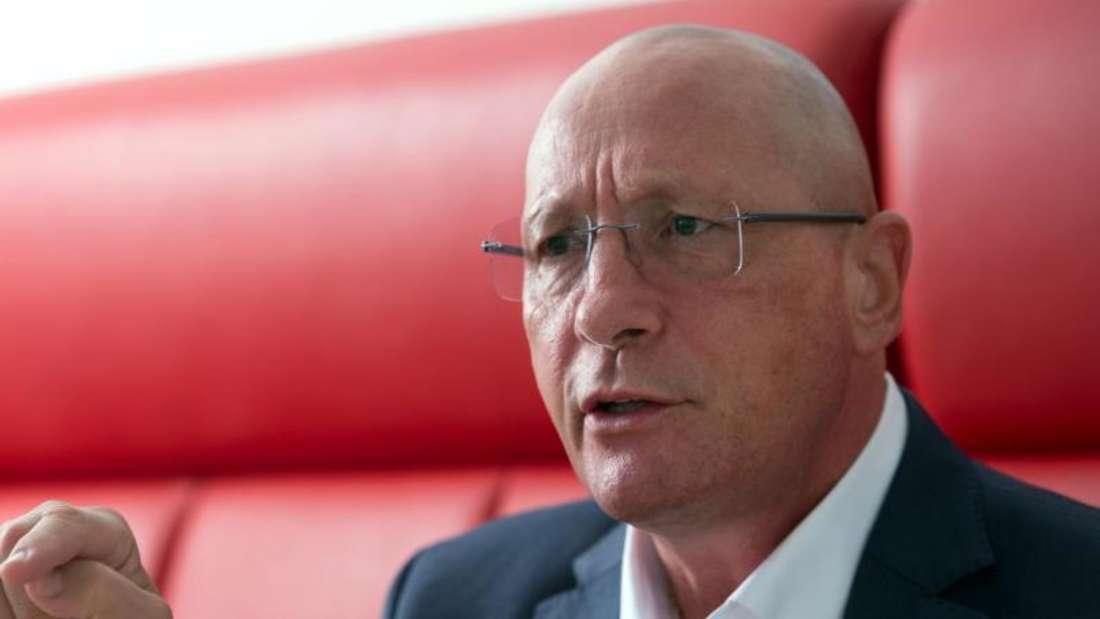 Uwe Hück ist Vorsitzender des Betriebsrats des Stuttgarter Sportwagenherstellers Porsche. Foto: Bernd Weißbrod