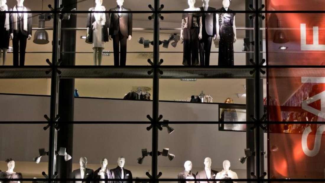 Bei Deutschlands Textilhändlern liefen die Geschäfte in September eher schlecht. Foto: Daniel Karmann
