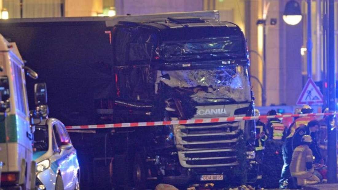 Der mutmaßliche Attentäter Anis Amri hatte den Lastwagen von Lukasz U. in Berlin entführt und als Waffe bei seinem Anschlag am Breitscheidplatz missbraucht. Foto: Paul Zinken