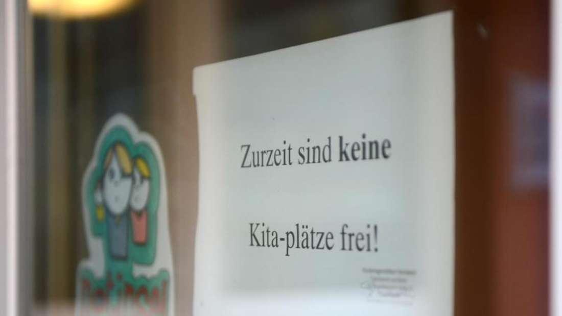 Nach einem Zeitungsbericht fehlen 228.000 Betreuungsplätze für Kleinkinder unter drei Jahren. Foto: Jens Kalaene/Illustration