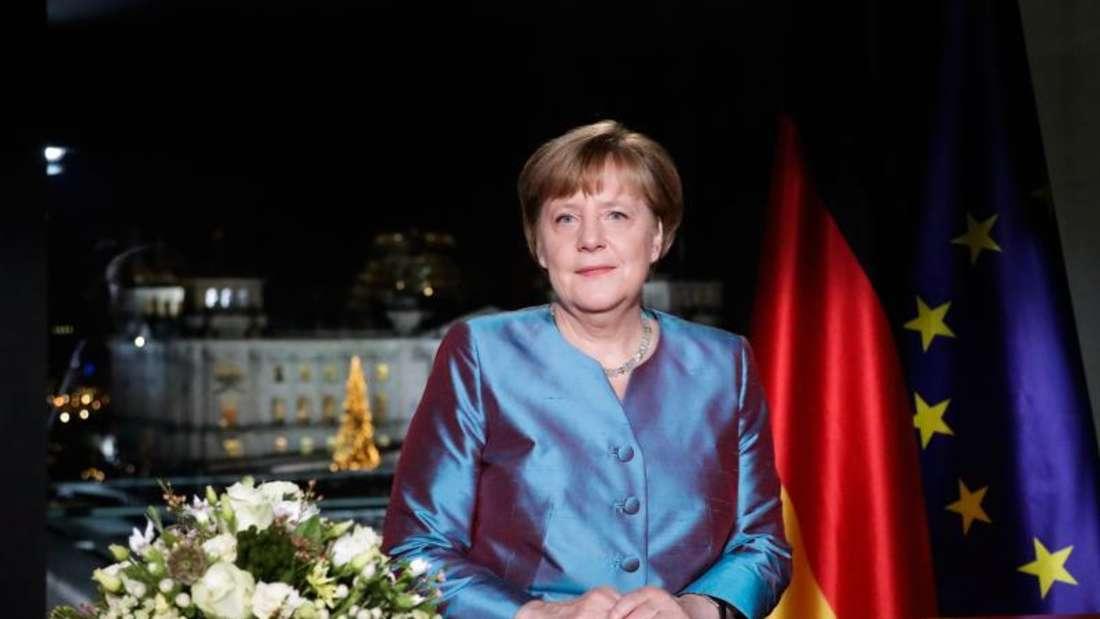 Die Neujahrsansprache von Bundeskanzlerin Merkel.