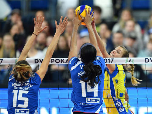 DVV-Pokal: Volleyball-Spektakel in der SAP Arena