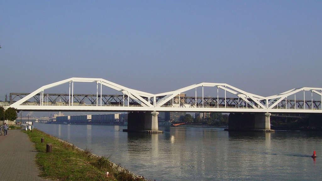 Ludwigshafen Mann Springt Von Konrad Adenauer Brücke Feuerwehr