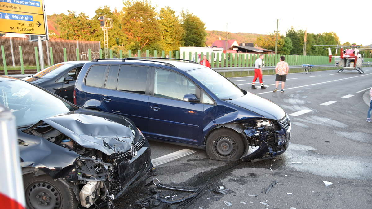Unfall Hemsbach