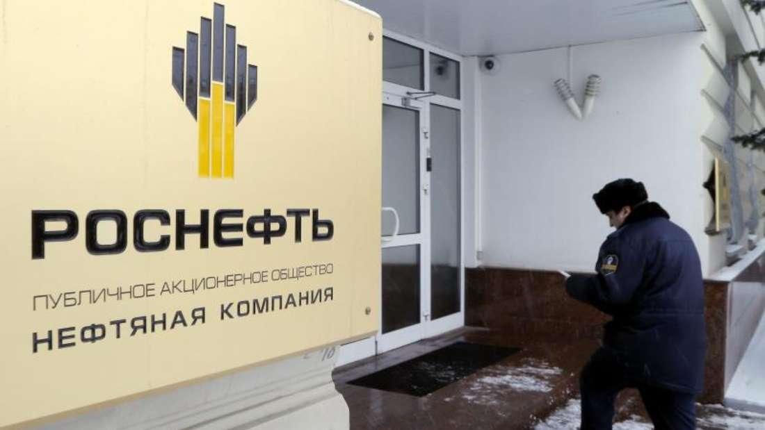 Rosneft-Zentrale in Moskau: Die traditionell engen Verbindungen zum Kreml verschaffen dem Ölkonzern eine bedeutende Stellung. Foto:Maxim Shipenkov