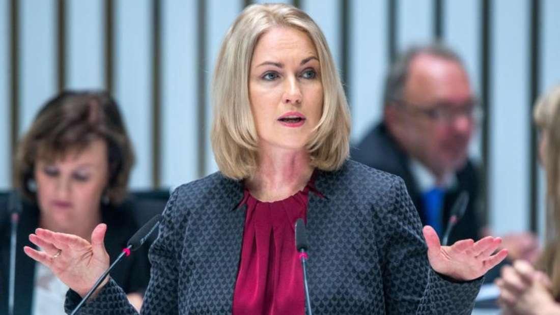 Manuela Schwesig, SPD-Ministerpräsidentin von Mecklenburg-Vorpommern, wandte sich gegen eine erneute große Koalition.Foto: Jens Büttner