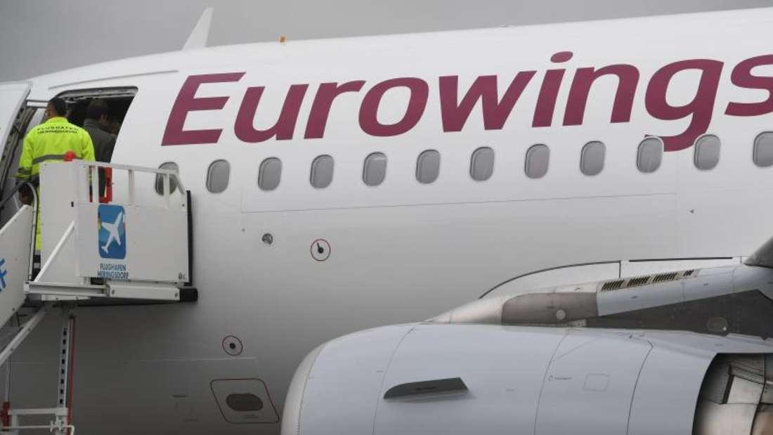 Eurowings steht vor einem gewaltigen Wachstumsschub, weil man bis zu 81 zusätzliche Flugzeuge der Air Berlin übernehmen will und dafür neue Crews benötigt. Foto: Stefan Sauer