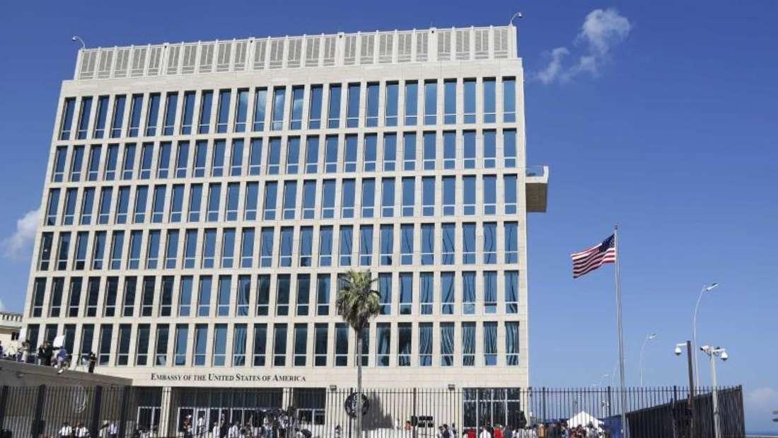 Die Regierung in Washington reagierte mit dem Rückzug auf Erkrankungen mehrerer Botschaftsmitarbeiter an den Ohren, hinter denen sie gezielte Angriffe vermutet. Foto: Desmond Boylan/Archiv