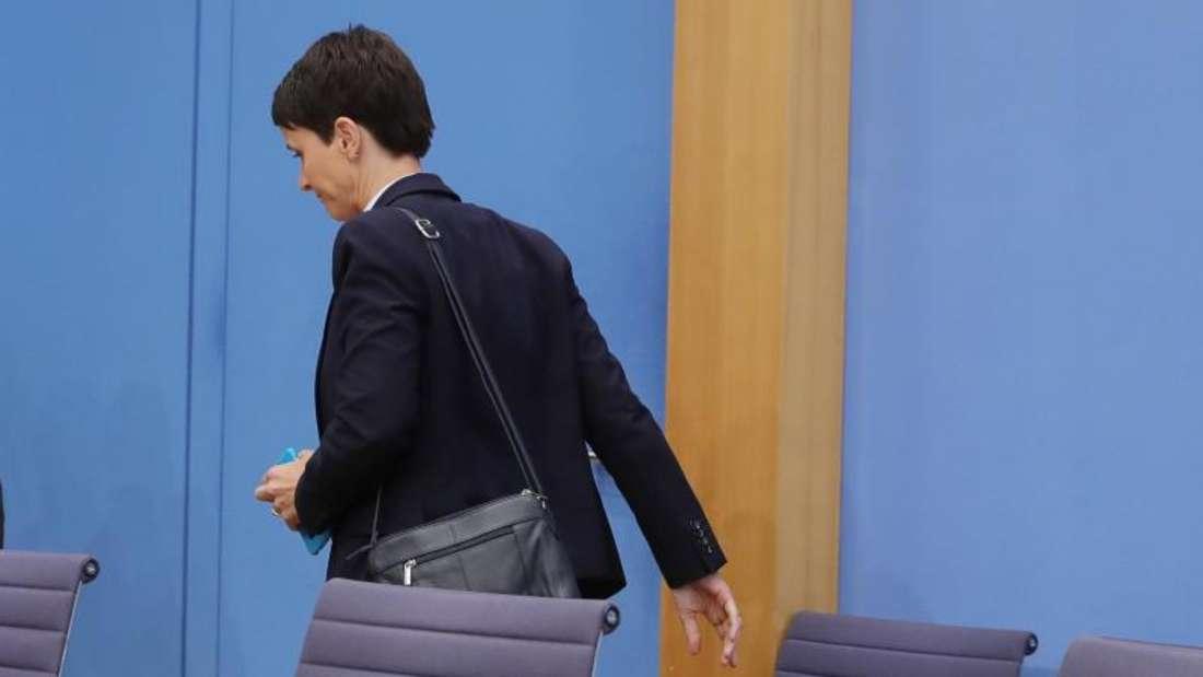 Die bisherige AfD-Vorsitzende Petry ist am 29. September aus der Partei ausgetreten. Foto: Michael Kappeler