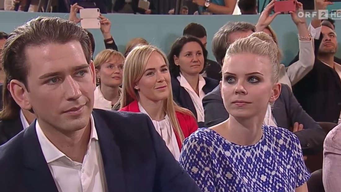 Als Sebastian Kurz Anfang Juli beim ÖVP-Parteitag in Linz zum neuen Parteichef gekürt wurde, trat seine Freundin Susanne Thier erstmals größer ins Rampenlicht.