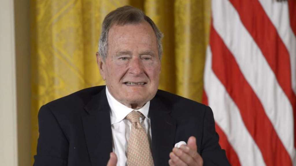 Der frühere US-Präsident George Bush Sen. in Washington.