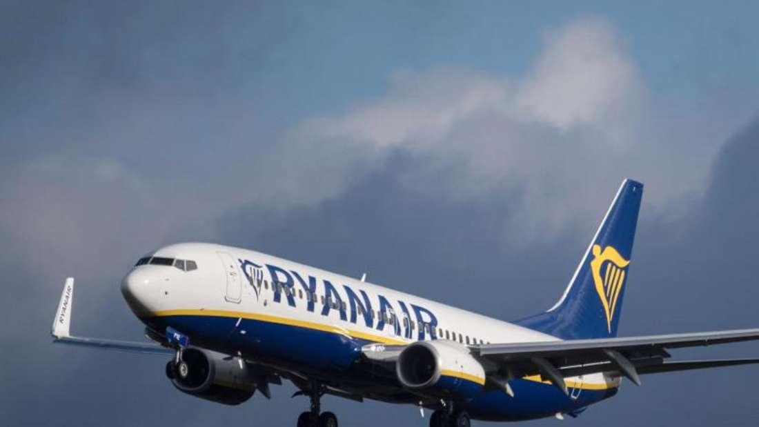 Ryanair-Flüge kommen ungewöhnlich oft zu spät inFrankfurt am Main an. Foto: Boris Roessler