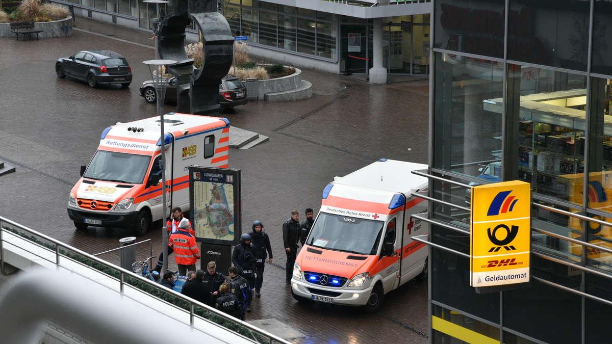 Ludwigshafen Polizeieinsatz