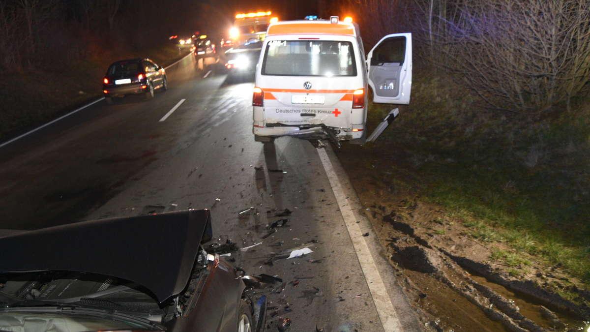 Unfall B292 Waibstadt