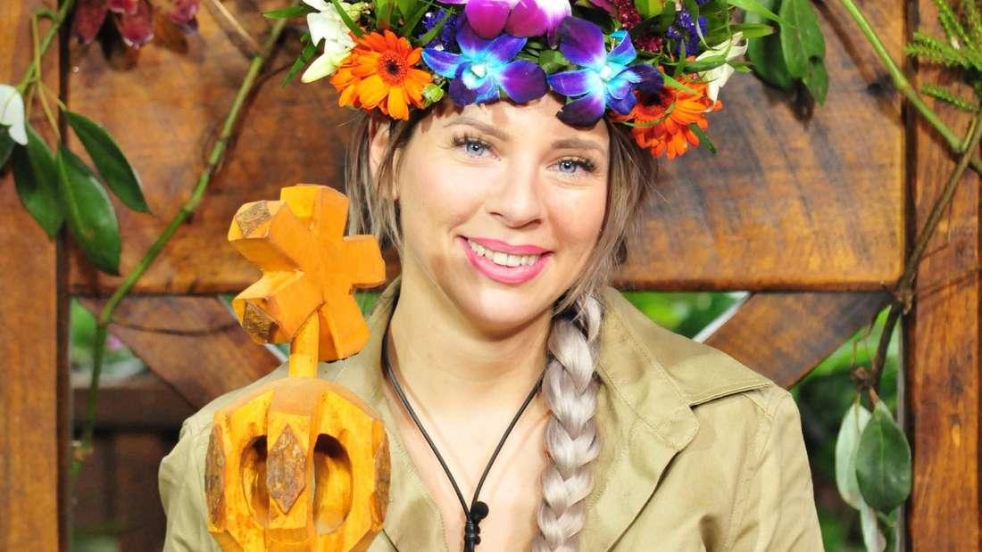 'Dschungelkönigin' Jenny Frankhauser setzt sich in der RTL-Show 'Ich bin ein Star - Holt mich hier raus!' durch.