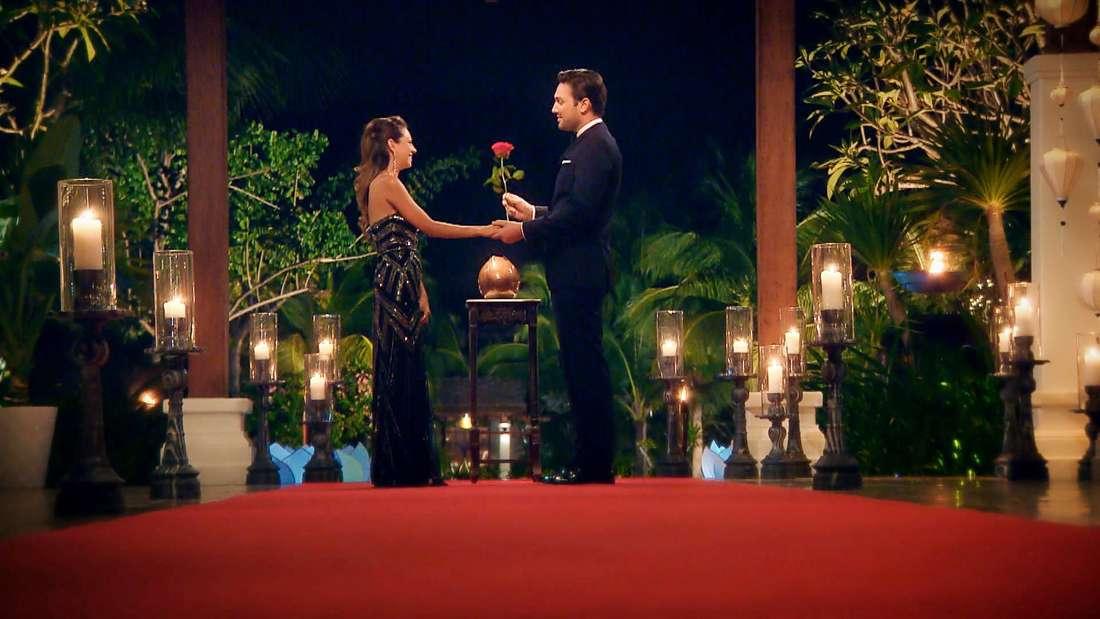 Die letzte Rose des Bachelors bekam Kristina.