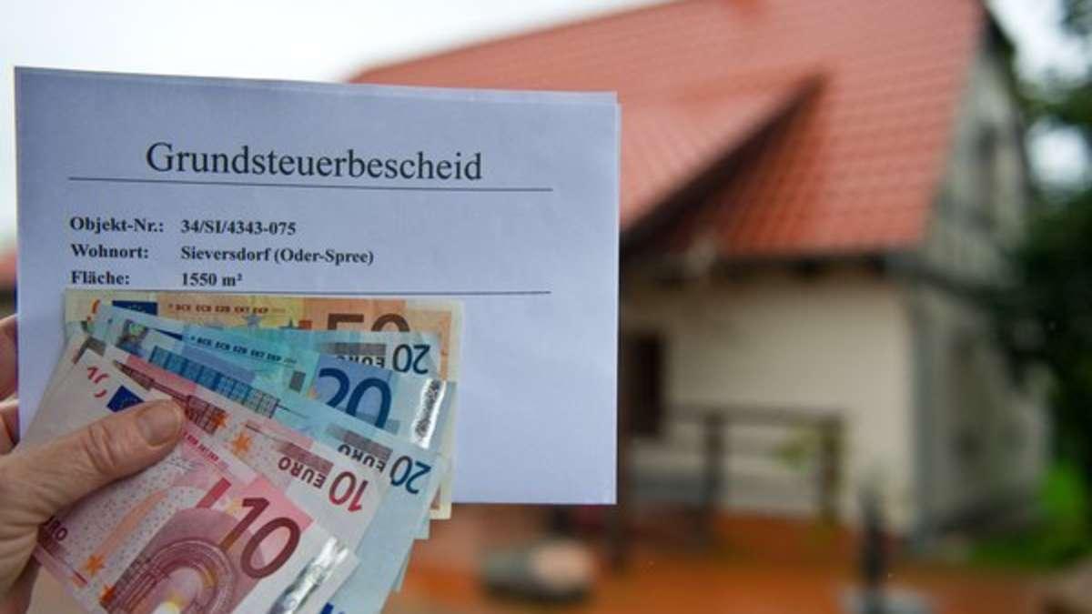 Grundsteuer Wie Oft