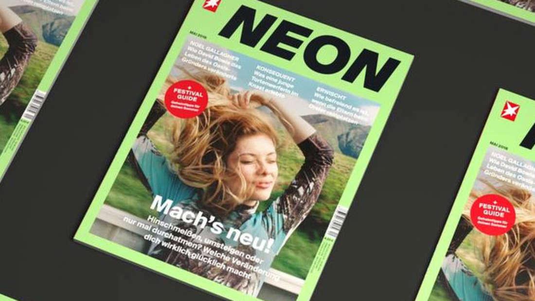 """Schon bald wird es die""""Neon"""" nur noch digital geben."""