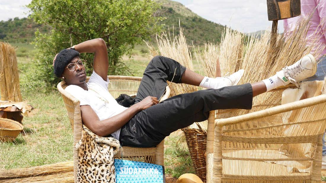 Diego beim Auslands-Recall in Südafrika: Der Sänger leidet unter einer Psychose.