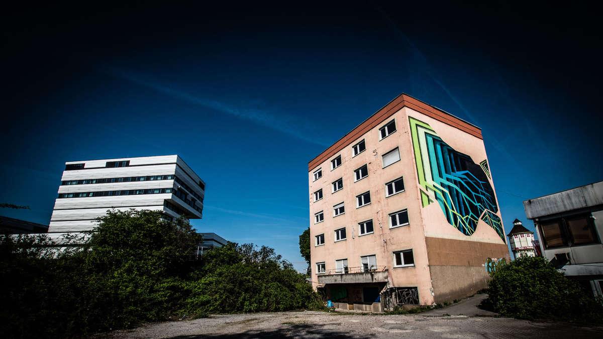 Heidelberg-Bahnstadt: Freudenhaus kurz vor Abriss