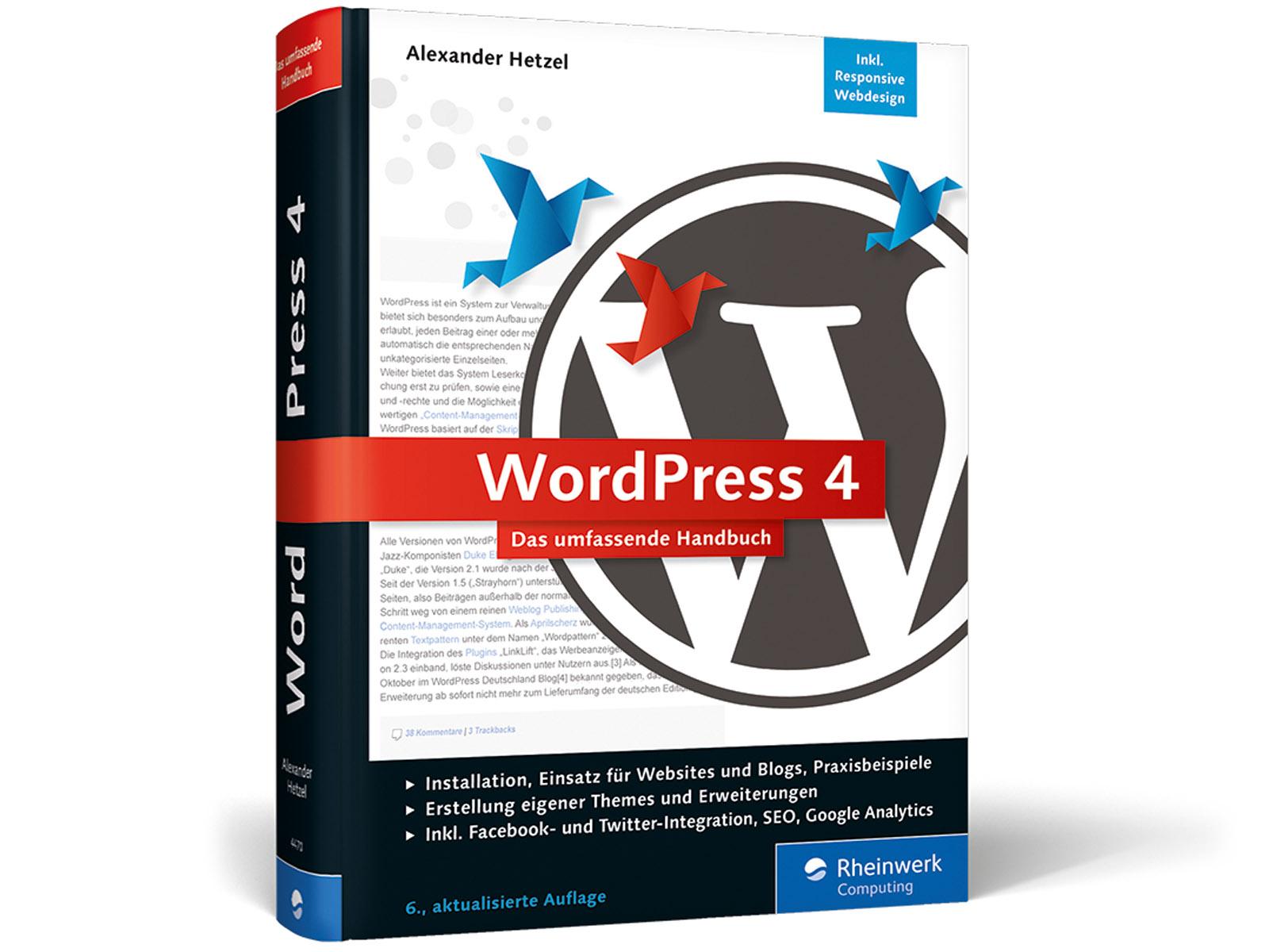 1398925721 Wordpress 4 Umfassende Handbuch
