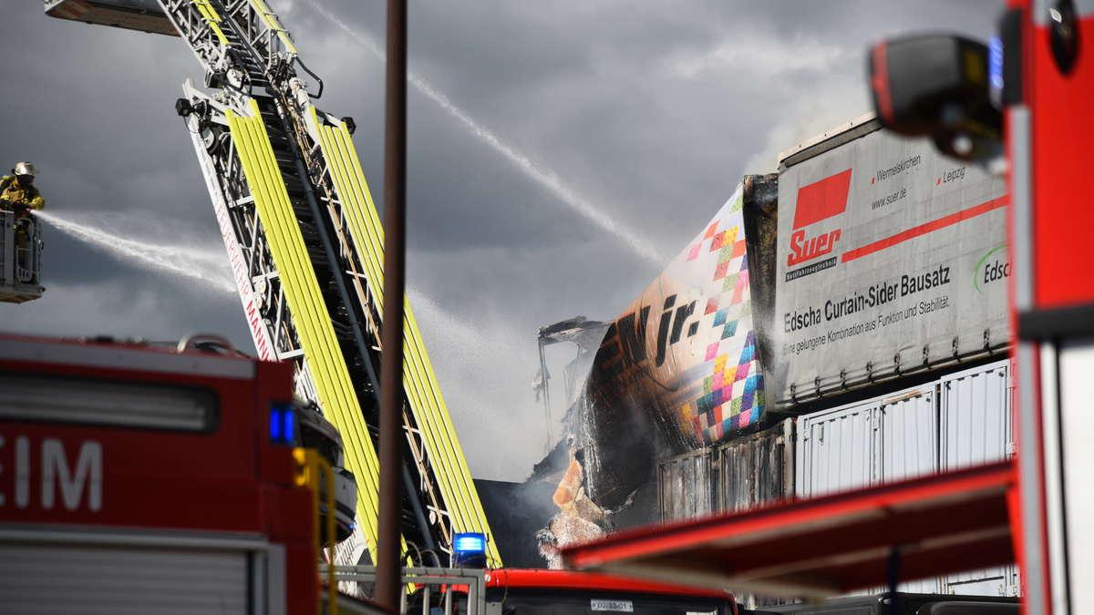 Brand Mannheim Heute