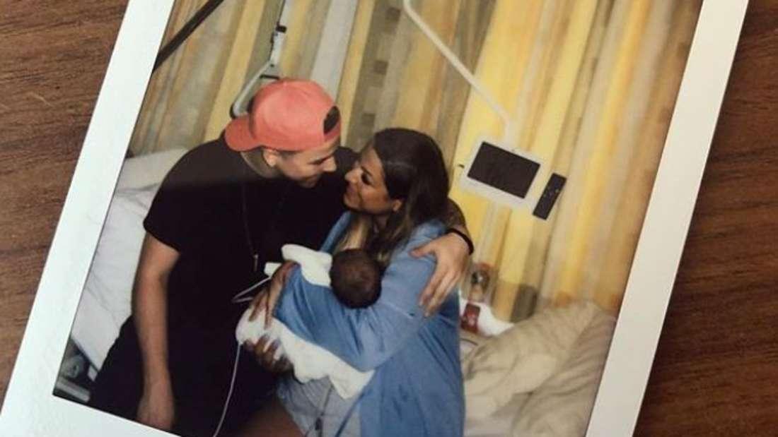 BTN-Stars Jenefer Riili und Matthias: So dramatisch war die Geburt von Milan