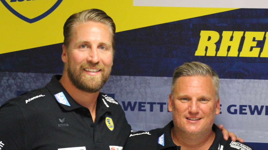 Oliver Roggisch und Nikolaj Jacobsen.