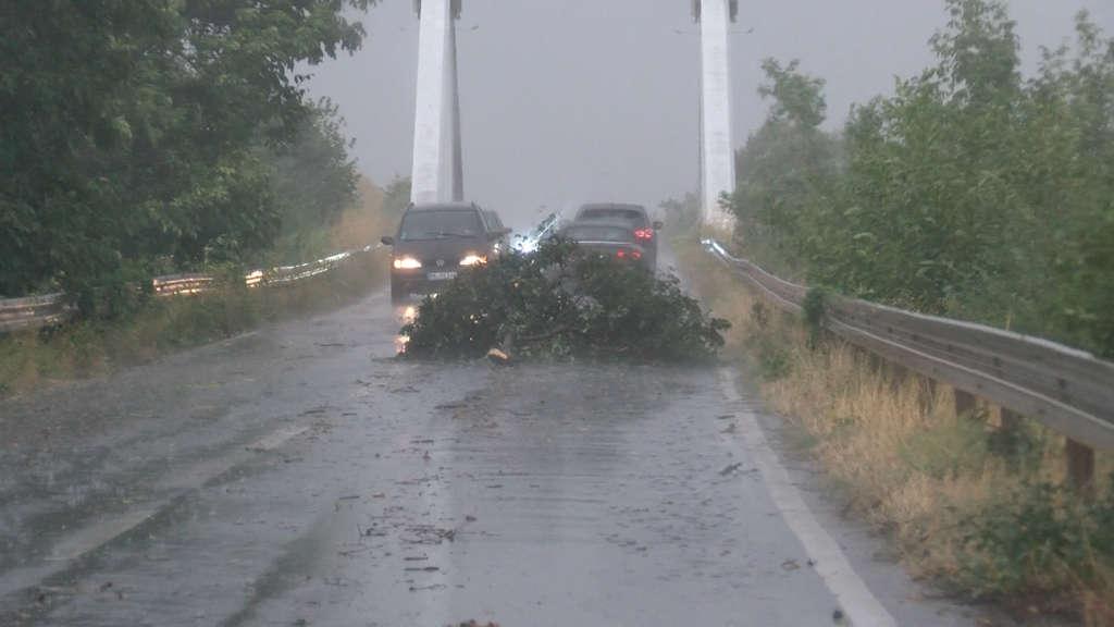 Unwetterwarnung Südhessen