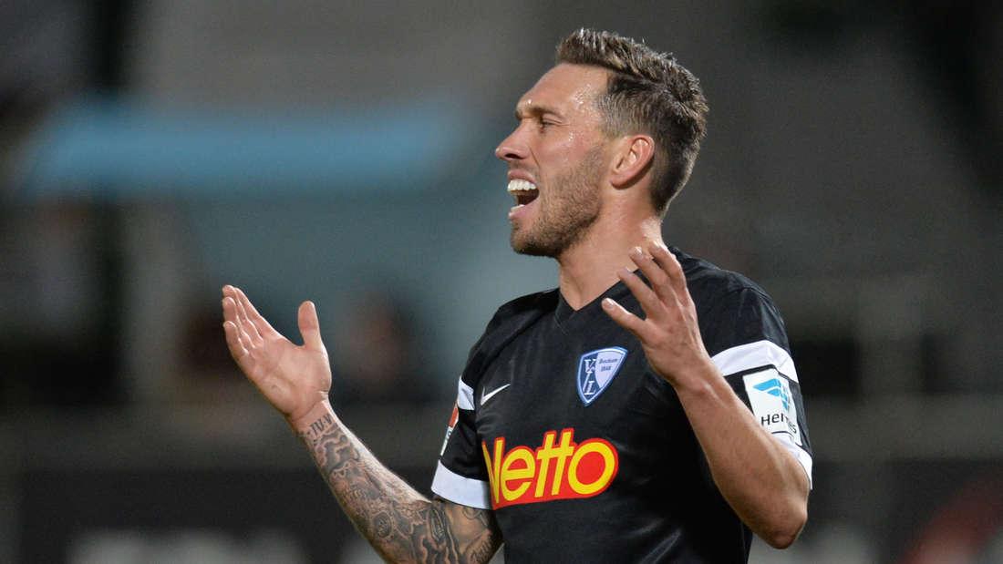 Tobias Weis hat für den VfL Bochum in der 2. Bundesliga 15 Partien absolviert und zwei Treffer erzielt.