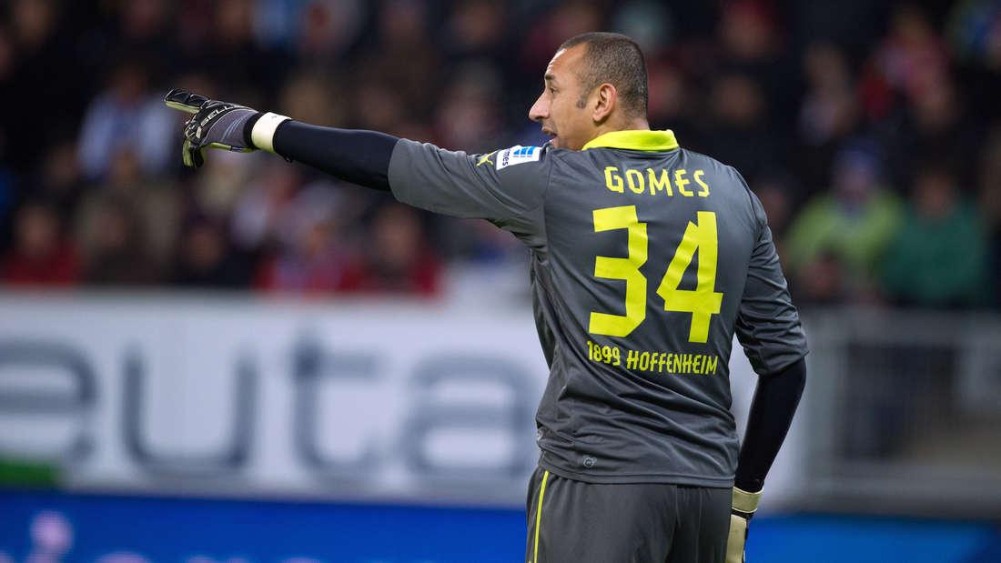 Heurelho Gomes hat neun Spiele für die TSG Hoffenheim bestritten.
