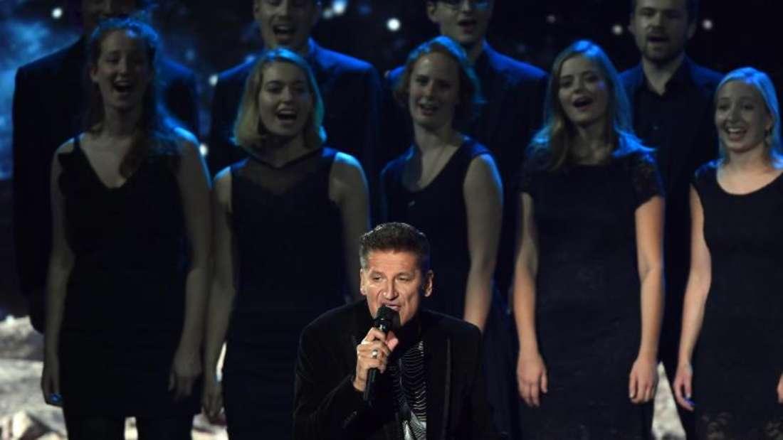 PUR-Sänger Hartmut Engler hat Verstärkung bekommen. Foto: Hendrik Schmidt