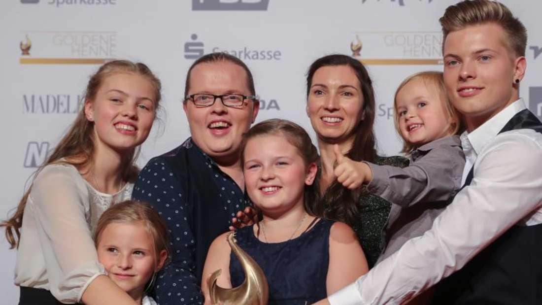 Angelo Kelly ist jetzt mit seiner ganz eigenen Family erfolgreich. Foto: Jan Woitas