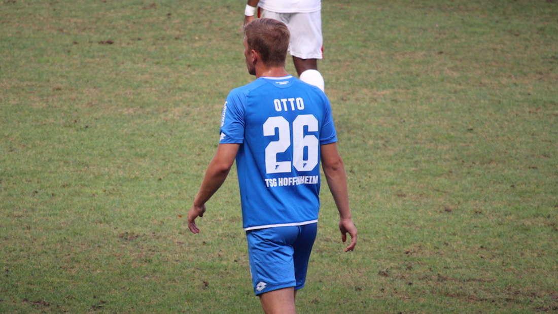 David Otto hat sich gegen die U19 von Manchester City in die Torschützenliste eingetragen (Archivfoto)