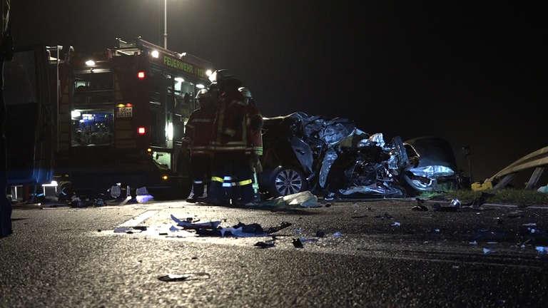 Schwerer Unfall auf der B68 bei Dörenhagen | nw.de