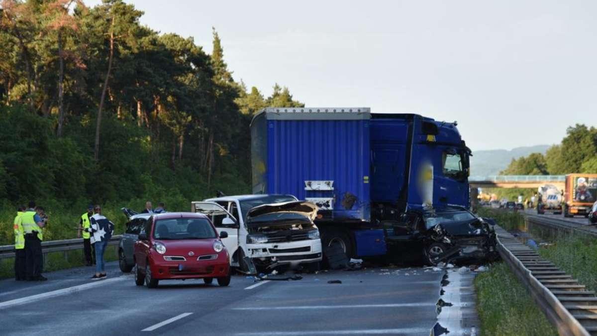Unfall A6 Mannheim Heute